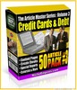 Thumbnail Credit Cards & Debt 50 Articles (MRR)