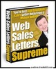 Thumbnail Web Sales Letters Supreme (MRR) -The Trick To Write Web Sale