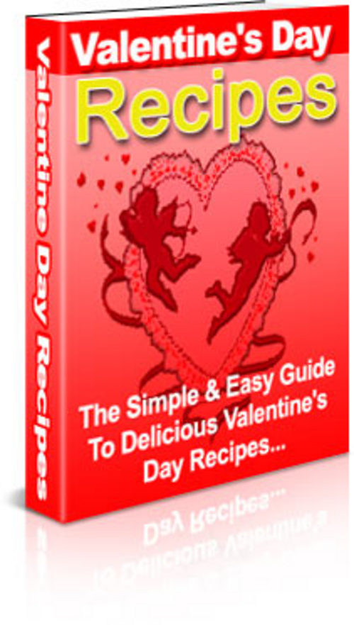 Product picture Valentine Recipes Resell Pak