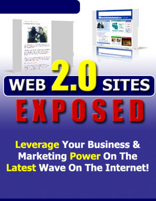 Product picture Web 2.0 Sites Exposed