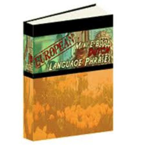 Product picture Language : Dutch phrases (mini-ebook)