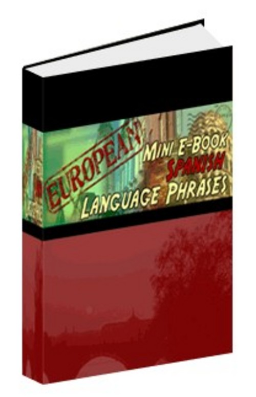 Product picture Language : Spanish Phrases (mini-ebook)