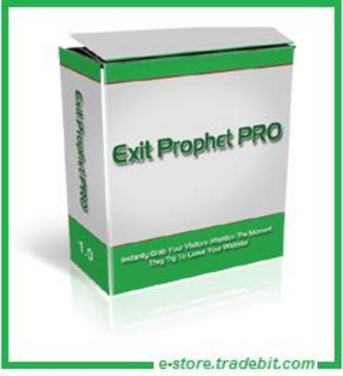 Product picture Exit Prophet Pro - Exit Traffic Salesmen
