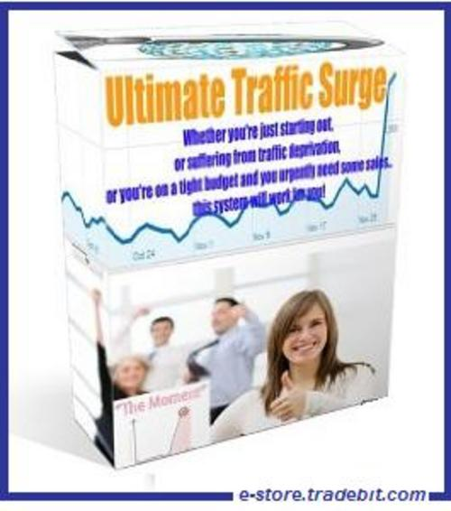 Product picture Ultimate Traffic Surge -  Hot Targeted Traffic