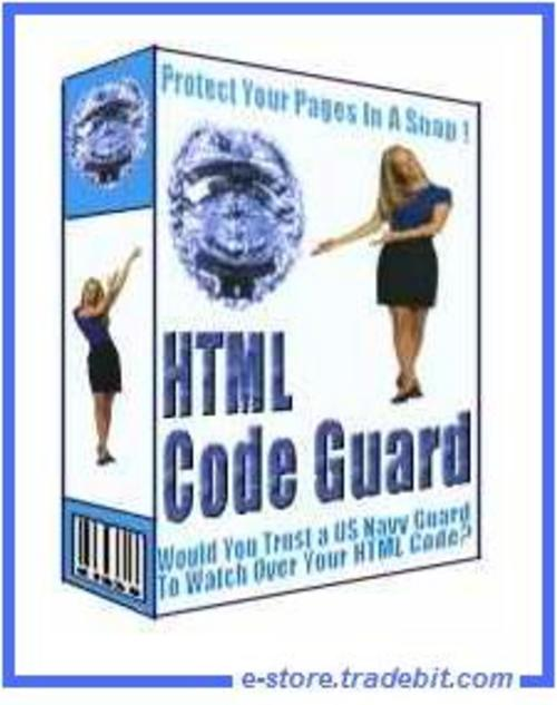 Product picture HTML Code Guard - Protect Your Page By Encrypting