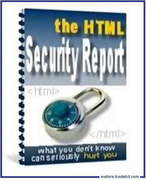 Product picture - HTML Security -