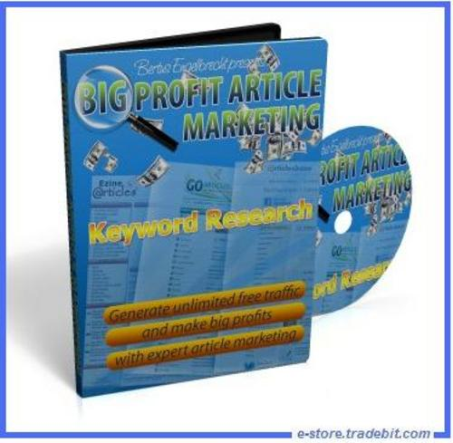 Product picture Big Profit Article Marketing (MRR) - Ebooks & Video Series