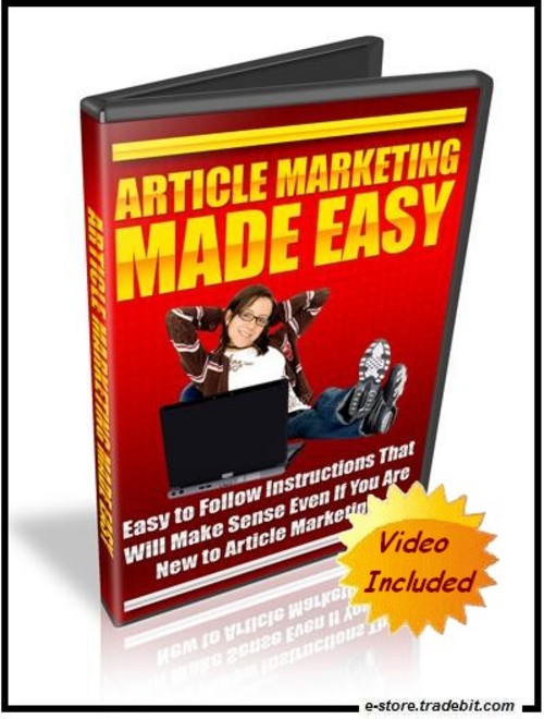 Product picture Article Marketing Made Easy (MRR) - This Simply Works