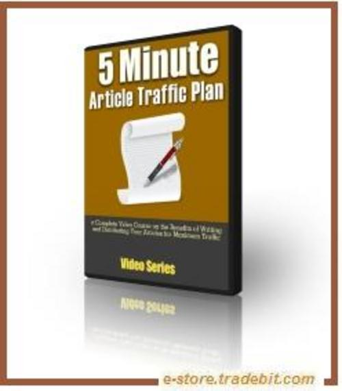 Product picture Simple 5 Minute Article Traffic Plan (MRR)