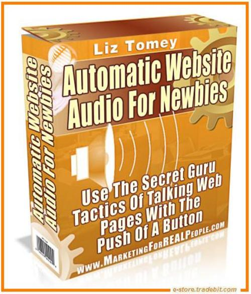 Product picture Automatic Website Audio For Newbies (MRR)