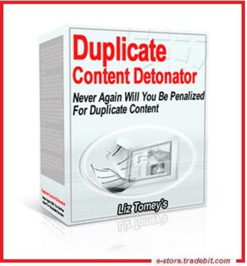 Product picture Duplicate Content Detonator (MRR) - Create Original Article