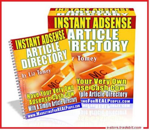 Product picture Instant Adsense Article Directory (MRR) - Money with Adsense