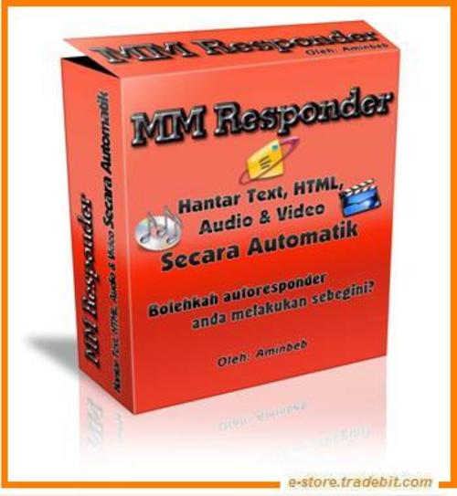 Product picture  MM Responders Software - Multi Media Autorespond Email