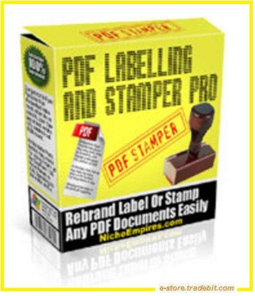 Product picture PDF Labeling & Stamper Pro (MRR) - Professional Software