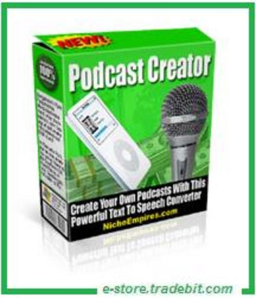 Product picture Podcast Creator - Text To Speech Converter (MRR)