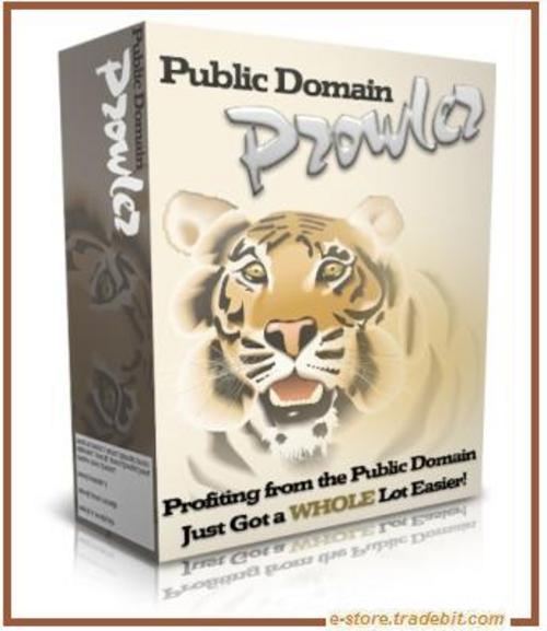 Product picture Public Domain Prowler (MRR) - Repackage  Information