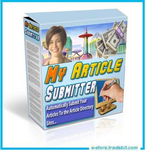 Product picture My Article Submitter - Your Article Hundreds  Websites