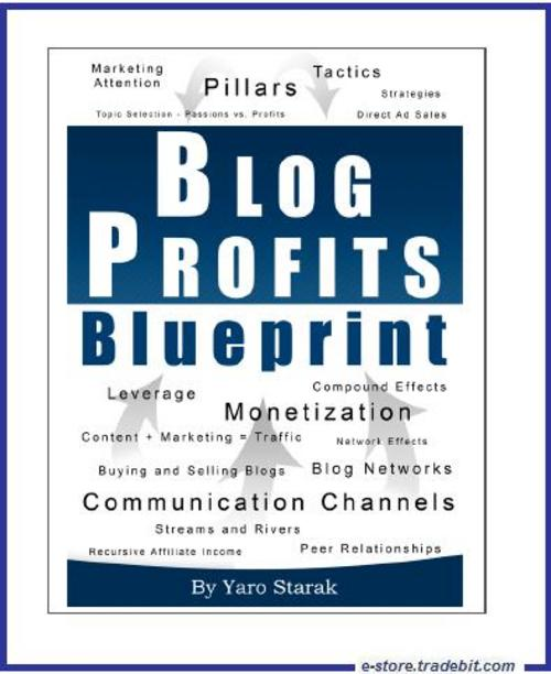 Product picture Blog Profits Blueprint - Blogging Wisdom