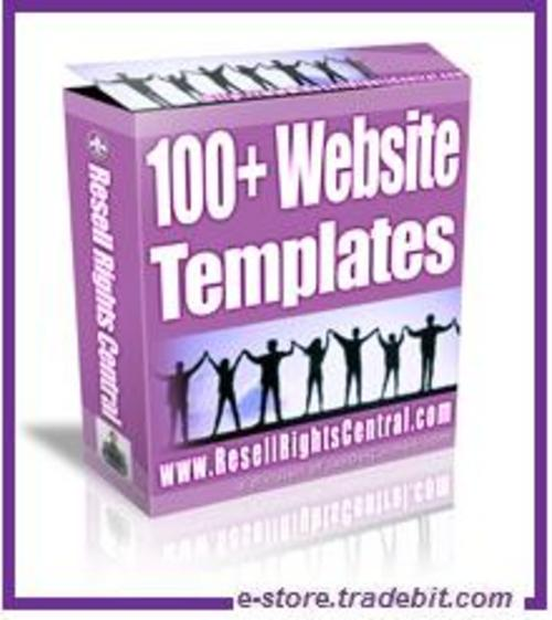 Product picture 100 Website Templates