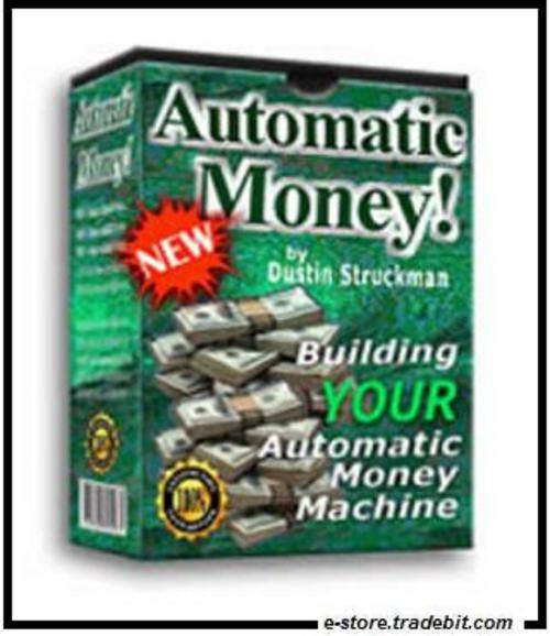 Product picture Automatic Money Machine -  Automation The Key To Success