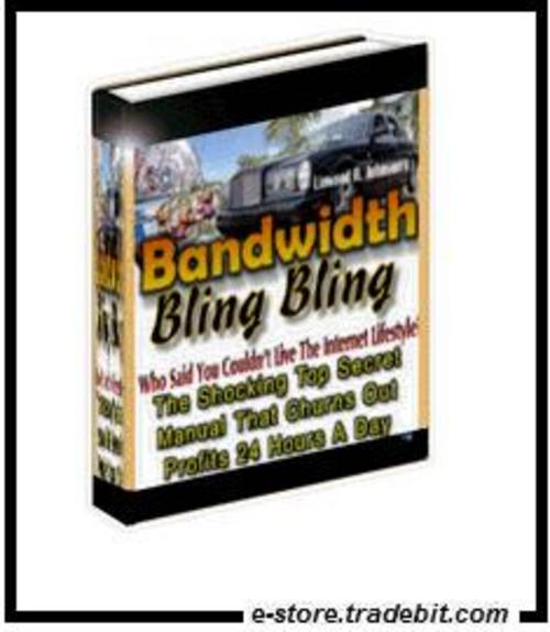 Product picture Bandwidth Bling Bling - Tips and Tricks