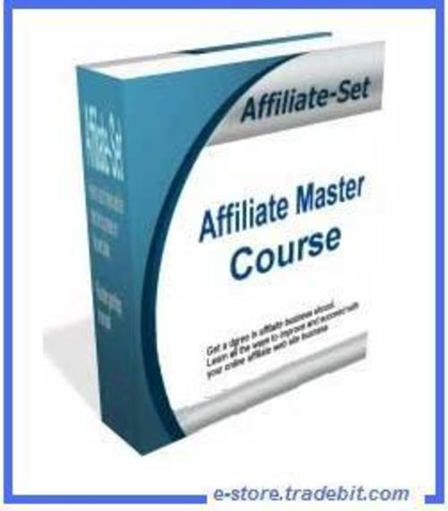 Product picture Affiliate Master Course -
