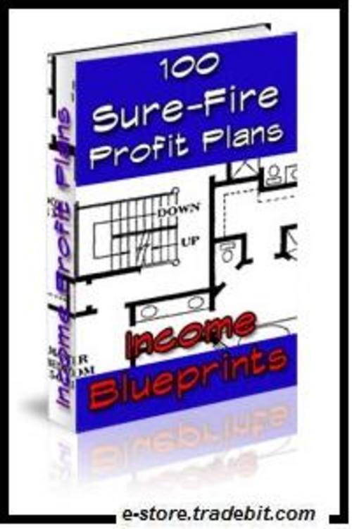 Product picture Income Blueprints: 100 Sure-Fire Profit Plans!