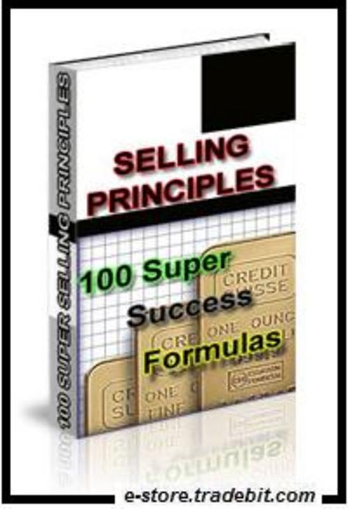 Product picture Selling Principles: 100 Super Success Formulas!
